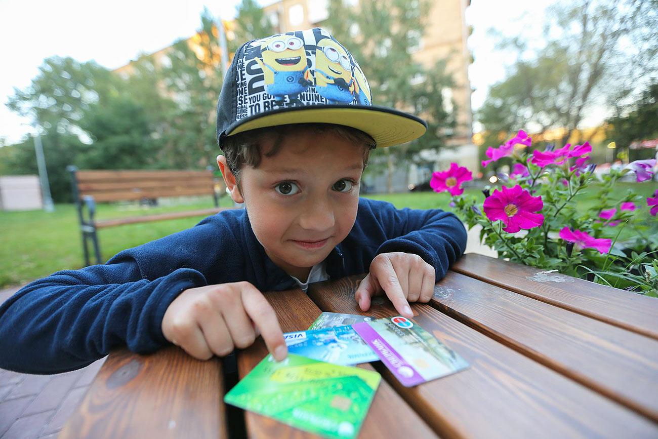 Банковские карты для детей и подростков
